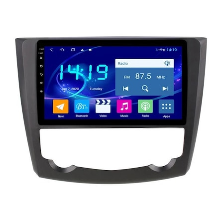 Navigatie NAVI-IT 2 GB RAM + 32 GB ROM , Renault Kadjar ( 2016 + ) , Android , Display 9 inch, Internet , Aplicatii , Waze , Wi Fi , Usb , Bluetooth , Mirrorlink [2]