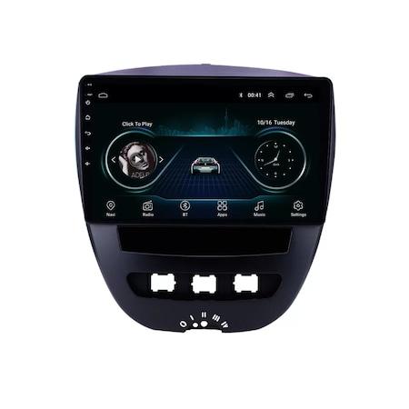 Navigatie NAVI-IT, 1GB RAM 16GB ROM, Peugeot 107 ( 2005 - 2015 ) , Android , Display 9 inch , Internet ,Aplicatii , Waze , Wi Fi , Usb , Bluetooth , Mirrorlink 0