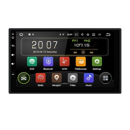 Navigatie NAVI-IT  2 GB RAM + 32 GB ROM Gps Android 9.1 Nissan XTrail Juke Navara Qashqai Pathfinder Patrol , Internet, Youtube , Waze , Wi Fi , Usb , Bluetooth , Mirrorlink - Copie 0