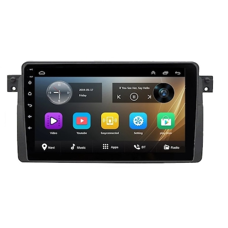 Navigatie NAVI-IT  2 GB RAM +  32 GB ROM , Android BMW SERIA 3 E46 ( 1999 - 2006 ) , Display 9 inch , Internet ,Aplicatii , Waze , Wi Fi , Usb , Bluetooth , Mirrorlink 1