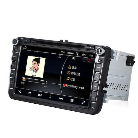 Navigatie NAVI-IT, 1GB RAM 16GB ROM, Volkswagen Android 10, Display 8 inch, WiFi, Bluetooth, GPS,DSP,RDS 1