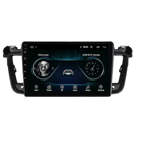 Navigatie NAVI-IT, 2GB RAM 32GB ROM, Peugeot 508 ( 2010 - 2018 ) , Android , Display 9 inch ,Internet , Aplicatii , Waze , Wi Fi , Usb , Bluetooth , Mirrorlink - Copie 0