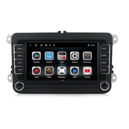 Navigatie NAVI-IT, Android 9.1, VW, Golf 5, 6, Passat, B6, B7, CC, Tiguan, Touran, Jetta, Eos, Polo, Sharan, Amarok, Caddy, 1GB RAM + 16GB ROM, Internet, Aplicatii , Waze , Wi Fi , Usb , Bluetooth , M [1]
