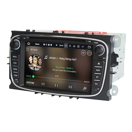 Navigatie NAVI-IT Gps Android Ford Mondeo Focus S Max Transit Tourneo , 1GB RAM +16GB ROM, Internet , Aplicatii , Waze , Wi Fi , Usb , Bluetooth , Mirrorlink 1