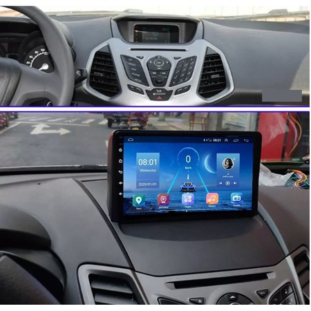 Navigatie NAVI-IT, 4GB RAM 64GB ROM,4G, IPS, DSP, Ford Ecosport ( 2013 - 2017 ) , Android , Display 9 inch, Internet, Aplicatii , Waze , Wi Fi , Usb , Bluetooth , Mirrorlink - Copie - Copie 2