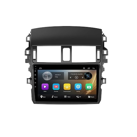 Navigatie NAVI-IT, 4GB RAM 64GB ROM, 4G, IPS; DSP, Toyota Corolla ( 2006 - 2013 ) , Android , Display 9 inch, Internet ,Aplicatii , Waze , Wi Fi , Usb , Bluetooth , Mirrorlink - Copie - Copie 0