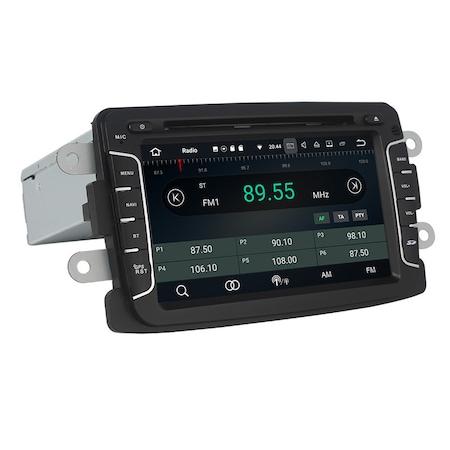 Navigatie NAVI-IT, 2GB RAM 16GB ROM, Gps Dacia Logan Duster Sandero Logdy Dokker Renault , Android 10 , Internet , Aplicatii , Waze , Wi Fi , Usb , Bluetooth , Mirrorlink 2