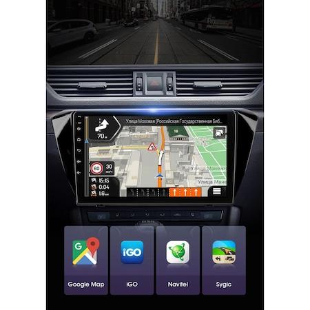 "Navigatie NAVI-IT 1GB RAM + 16GB ROM , Gps Skoda Superb 3 ( 2015 - 2019 ) , Android , Display 10.1 "" , Internet , Aplicatii , Waze , Wi Fi , Usb , Bluetooth , Mirrorlink 2"