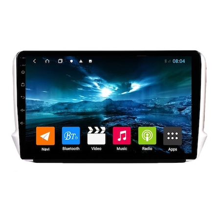 Navigatie NAVI-IT, 2GB RAM 32GB ROM, Peugeot 208 / 2008 ( 2012 - 2020 ) , Android , Display 9 inch, Internet , Aplicatii , Waze , Wi Fi , Usb , Bluetooth , Mirrorlink - Copie 0