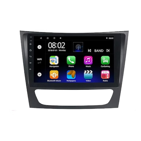 Navigatie NAVI-IT 1GB RAM + 16GB ROM,  Mercedes E Class W211 , CLS W219 , Android , Display 9 inch, Internet ,Youtube , Waze , Wi Fi , Usb , Bluetooth , Mirrorlink [2]