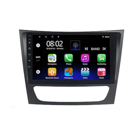 Navigatie NAVI-IT 4GB RAM + 64GB ROM, 4G, IPS, DSP,  Mercedes E Class W211 , CLS W219 , Android , Display 9 inch, Internet ,Youtube , Waze , Wi Fi , Usb , Bluetooth , Mirrorlink - Copie - Copie 2