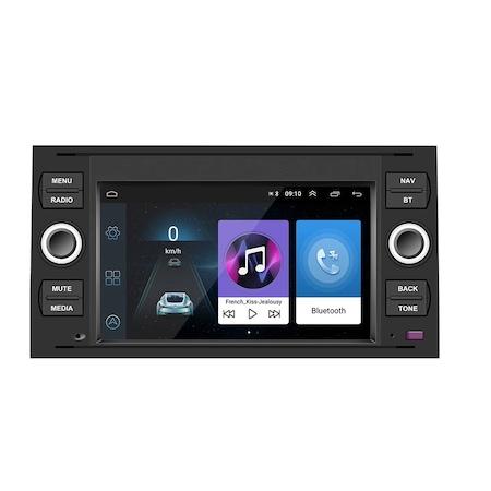 """Navigatie NAVI-IT, 1GB RAM 16GB ROM, dedicata cu Android Ford C-Max 2003-2010 cu Radio GPS Dual Zone, display HD 7"""" Touchscreen, Wi-FI, Bluetooth, Mirrorlink, USB, Waze 3"""