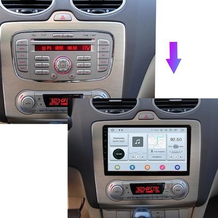 Navigatie NAVI-IT Ford Focus ( 2004 - 2011 ) , 2 GB RAM + 32 GB ROM , Carplay , Android , Aplicatii , Usb , Wi Fi , Bluetooth 2
