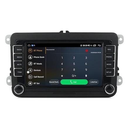 Navigatie NAVI-IT, Android 9.1, VW, Golf 5, 6, Passat, B6, B7, CC, Tiguan, Touran, Jetta, Eos, Polo, Sharan, Amarok, Caddy, 1GB RAM + 16GB ROM, Internet, Aplicatii , Waze , Wi Fi , Usb , Bluetooth , M [2]