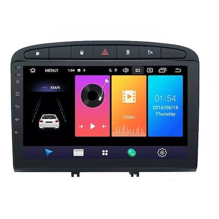 Navigatie NAVI-IT, 1GB RAM 16GB ROM, Peugeot 308 408 ( 2008 - 2020 ) , Android , Display 9 inch, Internet ,Aplicatii , Waze , Wi Fi , Usb , Bluetooth , Mirrorlink 3