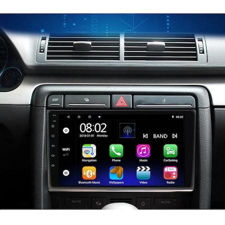 Navigatie NAVI-IT Android Audi A4 B6 B7 , SEAT EXEO ( 2001 - 2008 ) , Display 9 inch , 1GB RAM + 16GB ROM , Internet, Aplicatii , Waze , Wi Fi , Usb , Bluetooth , Mirrorlink 1