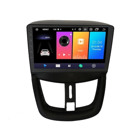 Navigatie NAVI-IT, 4GB RAM 64GB ROM, 4G, IPS, DSP, Peugeot 207 ( 2006 - 2015 ) , Android , Display 9 inch, Internet ,Aplicatii , Waze , Wi Fi , Usb , Bluetooth , Mirrorlink - Copie - Copie 0