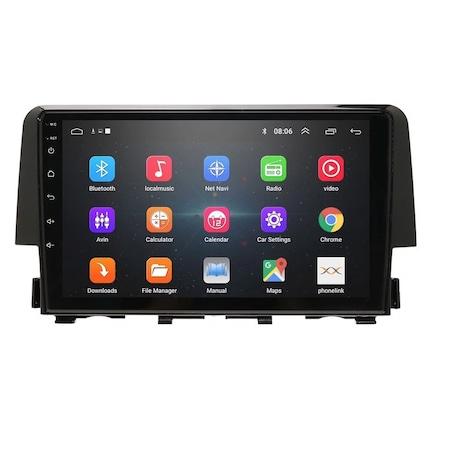 Navigatie NAVI-IT 4GB RAM + 64GB ROM 4G, IPS, DSP,  Android Honda Civic ( 2016 - 2020 ) , Display 9 inch, Internet, Aplicatii , Waze , Wi Fi , Usb , Bluetooth , Mirrorlink - Copie - Copie [2]