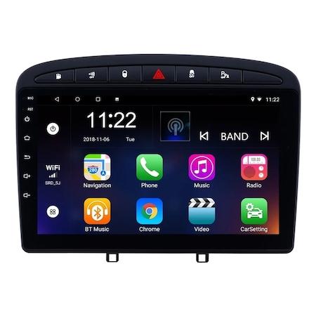 Navigatie NAVI-IT, 1GB RAM 16GB ROM, Peugeot 308 408 ( 2008 - 2020 ) , Android , Display 9 inch, Internet ,Aplicatii , Waze , Wi Fi , Usb , Bluetooth , Mirrorlink 1