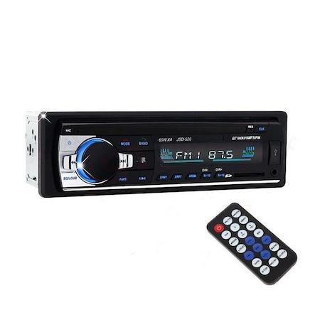 Radio NAVI-IT MP3 auto JSD-520, 4x60W, Bluetooth, Auxiliar , USB, Card Reader [2]