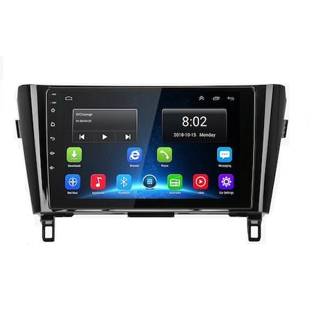 "Navigatie NAVI-IT, 2GB RAM 32GB ROM, Gps Nissan X Trail , Qashqai ( 2013 - 2018 ) Display 10.1 "" , Android , Internet ,Aplicatii , Waze , Wi Fi , Usb , Bluetooth , Mirrorlink - Copie 0"