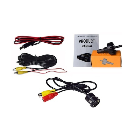 Camera video marsarier rotunda NAVI-IT , tip senzor cu 8 leduri si burghiu pentru instalare, rezistenta la apa si praf 1