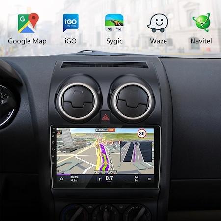"Navigatie NAVI-IT, 2GB RAM 32GB ROM, Dedicata Android 9.1 GPS Pentru Nissan Qashqai 2006-2013 Procesor Quad-Core, Display 9"" Full-Touch, WiFi, Bluetooth 4.0, 2 x USB, Microfon, GPS - Copie 2"