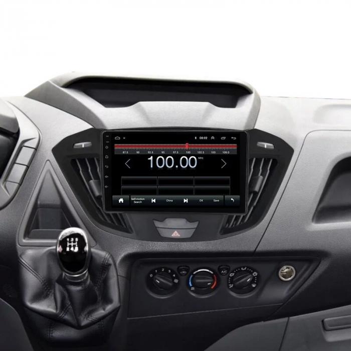 Navigatie NAVI-IT, 1GB RAM 16GB ROM, Ford Transit ( 2012 - 2019 ) , Android , Display 9 inch, Internet, Aplicatii , Waze , Wi Fi , Usb , Bluetooth , Mirrorlink 1