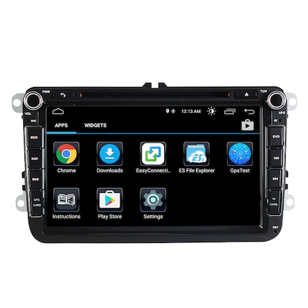 Navigatie NAVI-IT, 1GB RAM 16GB ROM, Volkswagen Android 10, Display 8 inch, WiFi, Bluetooth, GPS,DSP,RDS 2