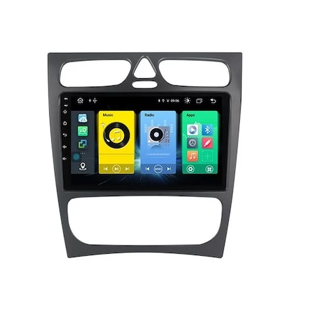 Navigatie NAVI-IT 2GB RAM + 32GB ROM Mercedes C Class W203 CLK W209 ( 2000 - 2005 ) , Android , Display 9 inch, Internet , Aplicatii , Waze , Wi Fi , Usb , Bluetooth , Mirrorlink - Copie 3