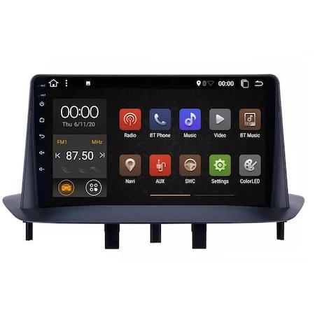 Navigatie NAVI-IT, 4GB RAM 64GB ROM, 4G, IPS, DSP, Renault Megane 3 Fluence ( 2009 -2015 ) , Display 9 inch , Android 9.0 , Internet ,Aplicatii , Waze , Wi Fi , Usb , Bluetooth 1