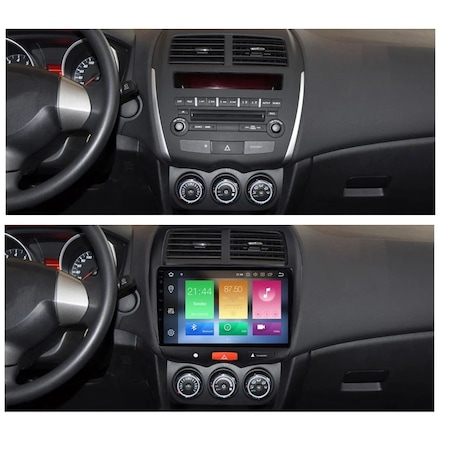 Navigatie NAVI-IT  4 GB RAM + 64 GB ROM  Mitsubishi ASX ( 2010 - 2019 ) , Android , Display 9 inch, Internet ,Aplicatii , Waze , Wi Fi , Usb , Bluetooth , Mirrorlink - Copie - Copie 3