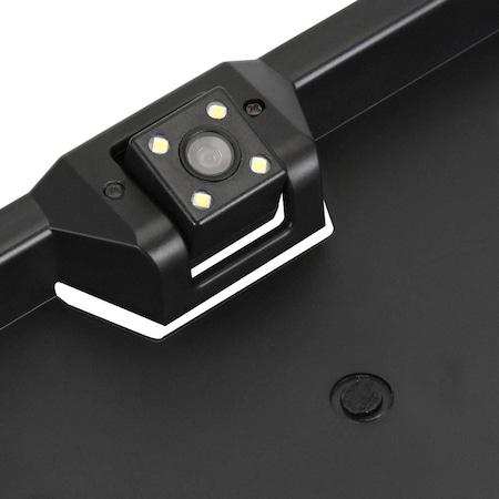 Suport numar cu camera video incorporata, pentru marsarier [2]