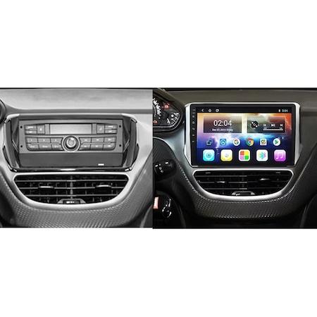 Navigatie NAVI-IT, 1GB RAM 16GB ROM, Peugeot 208 / 2008 ( 2012 - 2020 ) , Android , Display 9 inch, Internet , Aplicatii , Waze , Wi Fi , Usb , Bluetooth , Mirrorlink [2]