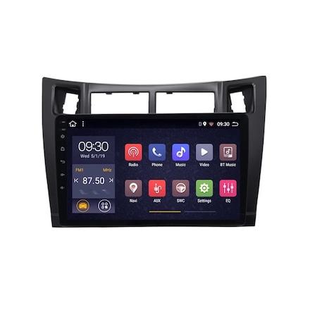 Navigatie NAVI-IT; 1GB RAM 16GB ROM, Toyota Yaris ( 2005 - 2012 ) ,Carplay , Android , Aplicatii , Usb , Wi Fi , Bluetooth [1]