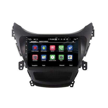 Navigatie NAVI-IT, 4GB RAM 64GB ROM, 4G, IPS, DSP, dedicata cu Android 9.1 pentru Hyundai Elantra 2011-2013, WiFi, Bluetooth, Magazin Play - Copie - Copie 1