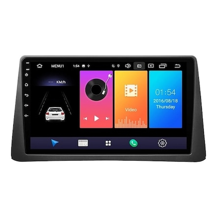Navigatie NAVI-IT, 1GB RAM + 16GB ROM ,  Opel Mokka ( 2012 - 2016 ) , Android , Display 9 inch ,Internet , Aplicatii , Waze , Wi Fi , Usb , Bluetooth , Mirrorlink 3
