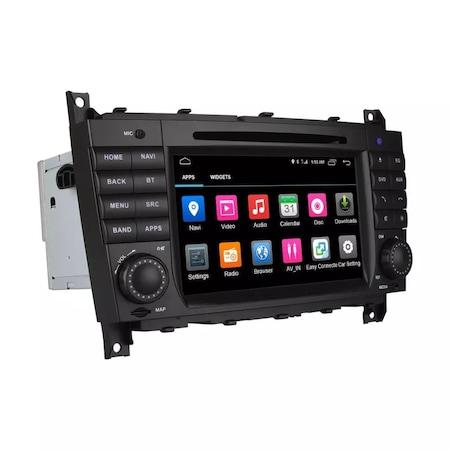 Navigatie NAVI-IT, 2GB RAM 32GB ROM Android 9.1 dedicata Mercedes C-Class, CLC (W203), G-Class (W467) cu DVD + Cadou Card GPS 16 Gb - Copie 0