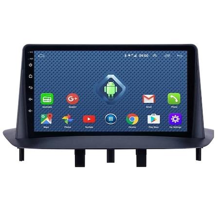 Navigatie NAVI-IT, 1GB RAM 16GB ROM, Renault Megane 3 Fluence ( 2009 -2015 ) , Display 9 inch , Android 9.0 , Internet ,Aplicatii , Waze , Wi Fi , Usb , Bluetooth 2