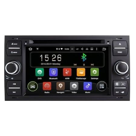 Navigatie Gps Android 9.0 Ford Focus, Mondeo, Fiesta, Kuga, Transit , 1GB RAM +16GB ROM , Internet , Aplicatii , Waze , Wi Fi , Usb , Bluetooth , Mirrorlink 0