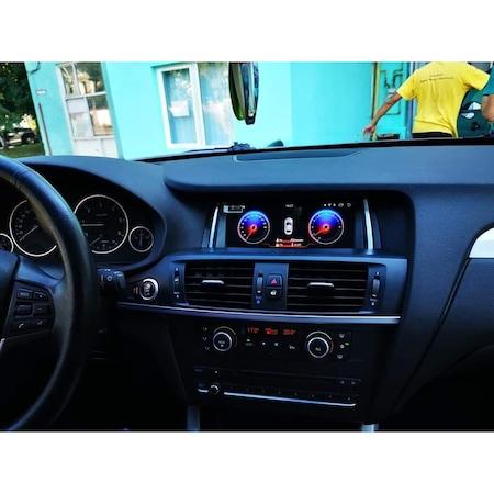 "Navigatie NAVI-IT, 4 GB RAM 64 GB ROM, 4G, IPS, DSP, Gps BMW X3 F25 , X4 F26 ( 2013 - 2018 ) pentru NBT , Android 10 ,Waze , Youtube , Wi-Fi, Bluetooth, Quad-Core 1.6 GHz , 8.8"", IPS Touchscreen - Cop 3"