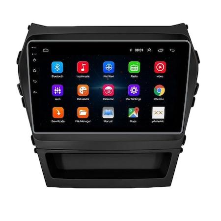 Navigatie NAVI-IT, 1GB RAM 16GB ROM, Hyundai Santa Fe ix 45 ( 2012 - 2017 ) , Android , Display 9 inch, Internet, Aplicatii , Waze , Wi Fi , Usb , Bluetooth , Mirrorlink 2