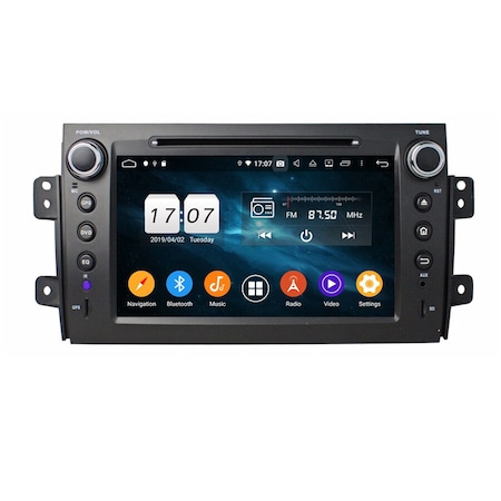 Navigatie NAVI-IT, 2GB RAM 16GB ROM, dedicata Android 10, Suzuki SX4 2006-2013 3