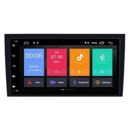 Navigatie NAVI-IT Android Audi A4 B6 B7 , SEAT EXEO ( 2001 - 2008 ) , Display 9 inch , 1GB RAM + 16GB ROM , Internet, Aplicatii , Waze , Wi Fi , Usb , Bluetooth , Mirrorlink 3