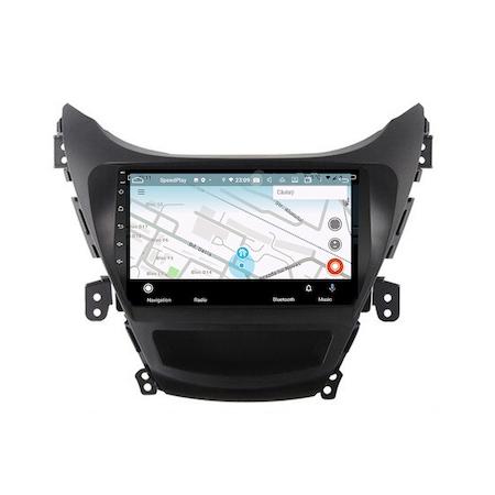 Navigatie NAVI-IT, 1GB RAM 16GB ROM, dedicata cu Android 9.1 pentru Hyundai Elantra 2011-2013, WiFi, Bluetooth, Magazin Play 2