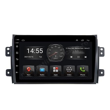 Navigatie NAVI-IT, 4GB RAM 64GB ROM, 4G, IPS, DSP,  Android 10, Suzuki SX4 2GB Ram Ecran 9 inch - Copie 2