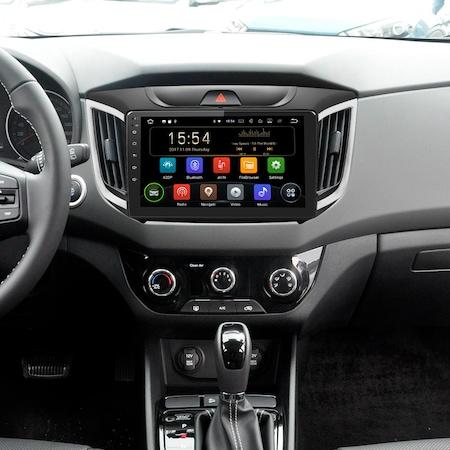 "Navigatie NAVI-IT, 1GB RAM 16GB ROM, Gps Android 9.1 Hyundai ix 25 / Creta , Display 9"", Internet , Aplicatii , Waze , Wi Fi ,Bluetooth , Usb [4]"