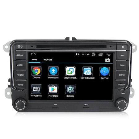 Navigatie Gps Android Skoda Octavia 2 ( 2005-2013 ) , 2GB RAM + 16GB ROM , Internet , Aplicatii , Waze , Wi Fi , Usb , Bluetooth , Mirrorlink [2]