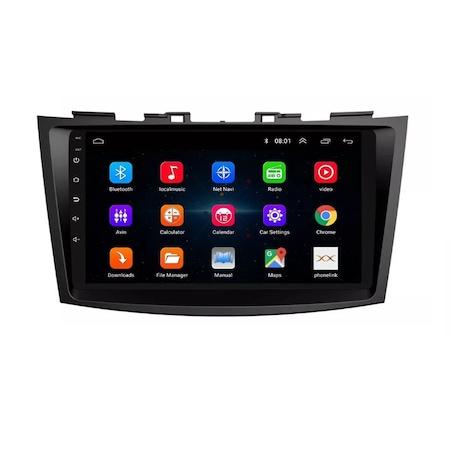 Navigatie NAVI-IT 4GB RAM 64GB ROM, 4G, IPS, DSP, Suzuki Swift ( 2010 - 2017 ) , Carplay , Android , Aplicatii , Usb , Wi Fi , Bluetooth 1