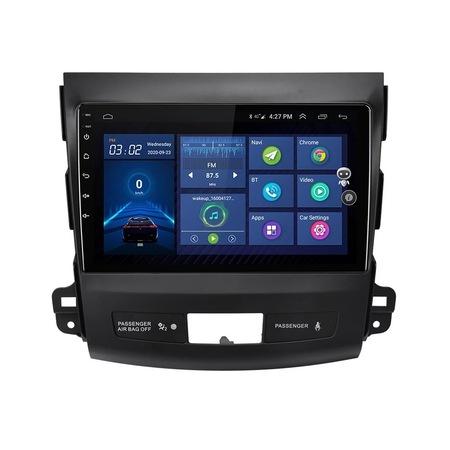 Navigatie NAVI-IT, 1GB RAM 16GB ROM, Peugeot 4007 ( 2007 - 2012 ) , Android , Display 9 inch ,Internet ,Aplicatii , Waze , Wi Fi , Usb , Bluetooth , Mirrorlink 4